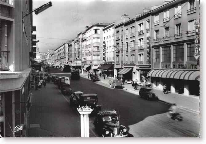 brest la rue de siam en 1955. Black Bedroom Furniture Sets. Home Design Ideas