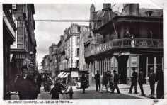 brest rue de siam en 1900. Black Bedroom Furniture Sets. Home Design Ideas